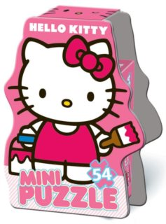 MiniPuzzle BONAPARTE 54 dílků - Hello Kitty II