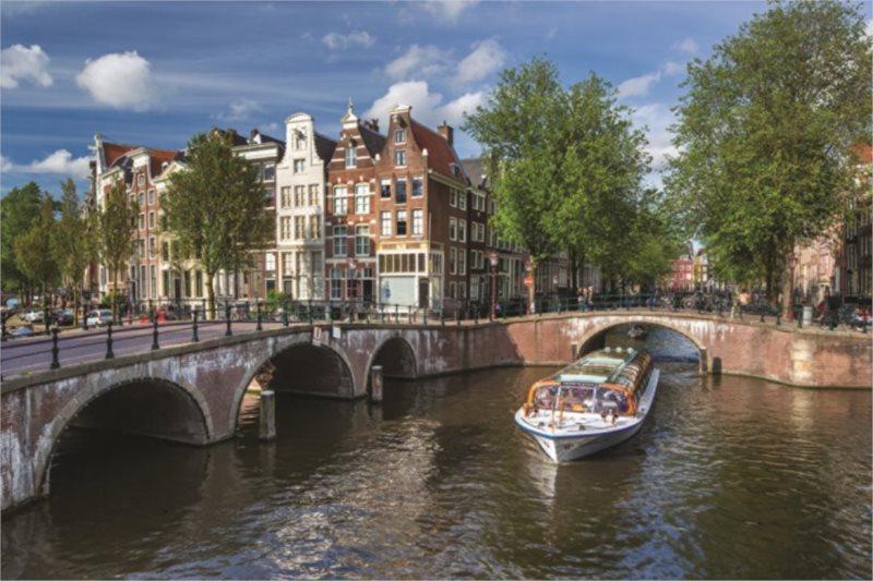 Puzzle JUMBO 18578 Herengracht, Amsterdam 1500 dílků
