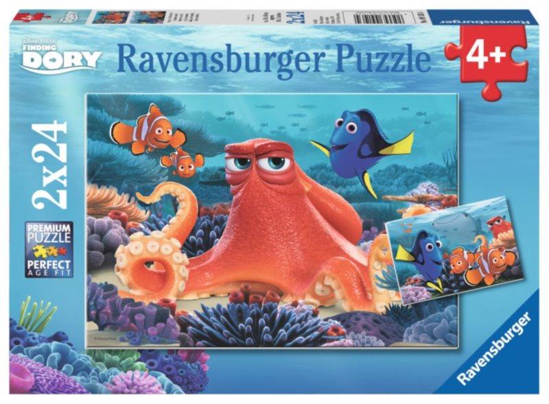 RAVENSBURGER Puzzle Hledá se Dory 2x24 dílků