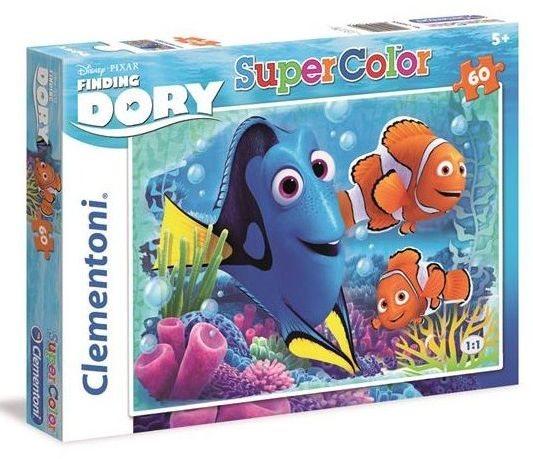 CLEMENTONI Puzzle Hledá se Dory 60 dílků