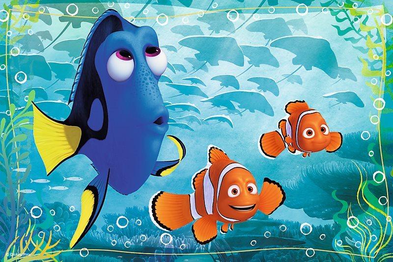 TREFL Puzzle Hledá se Dory: Marlin a Nemo 54 dílků