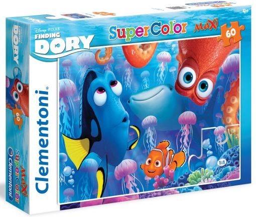 CLEMENTONI Puzzle Hledá se Dory: Pod mořem MAXI 60 dílků