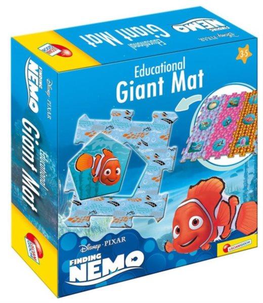 LISCIANI Puzzle Hledá se Nemo GIANT MAT 12 dílků