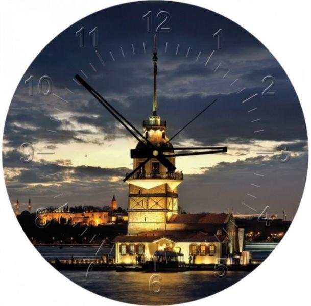ART PUZZLE Puzzle hodiny Maiden's Tower, Turecko 570 dílků