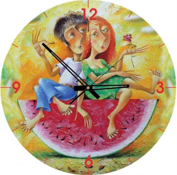ART PUZZLE Puzzle hodiny Milujeme červenou 570 dílků