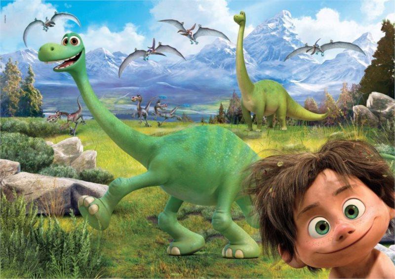 CLEMENTONI Puzzle Hodný dinosaurus MAXI 60 dílků