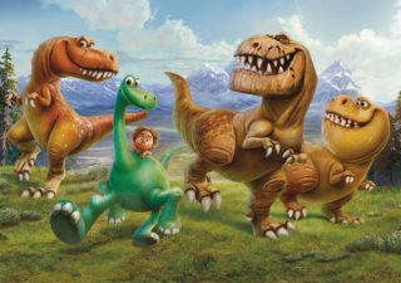 Puzzle Hodný Dinosaurus: V horách MAXI 24 dílků
