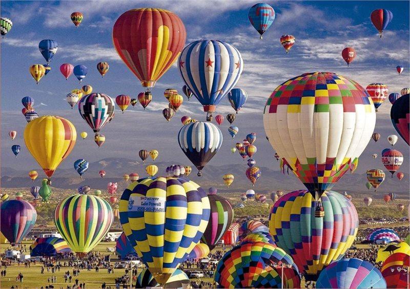 EDUCA Puzzle Horkovzdušné balóny 1500 dílků