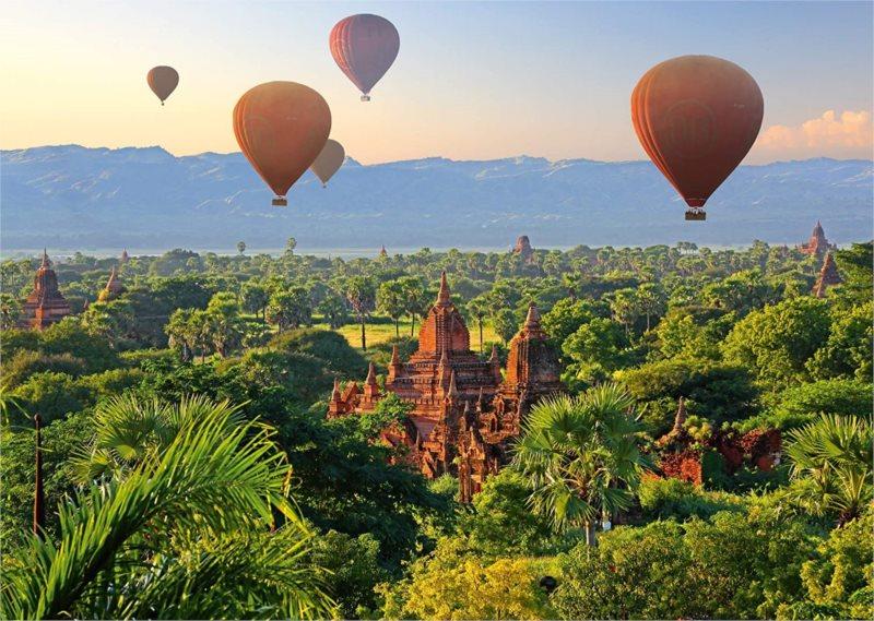 SCHMIDT Puzzle Horkovzdušné balóny nad Mandalay 1000 dílků