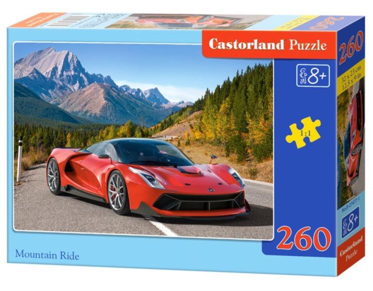 CASTORLAND Puzzle Horská jízda 260 dílků