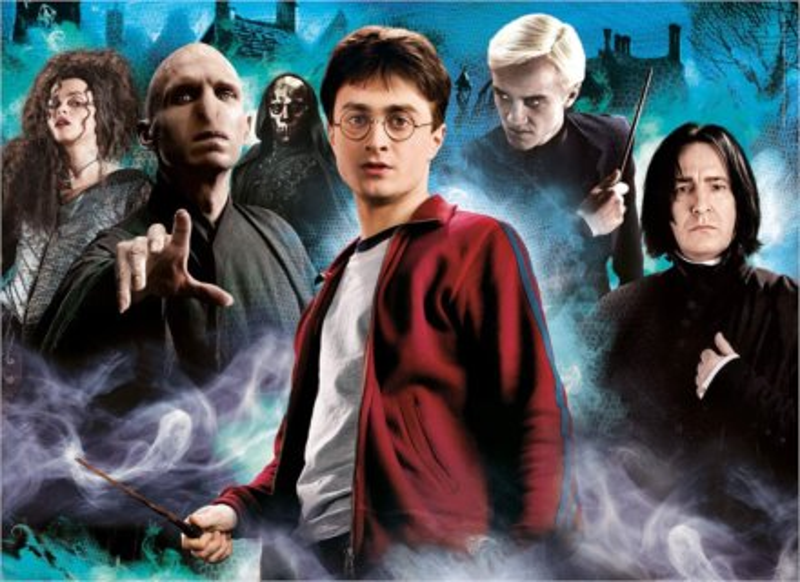 CLEMENTONI Puzzle Harry Potter 1000 dílků