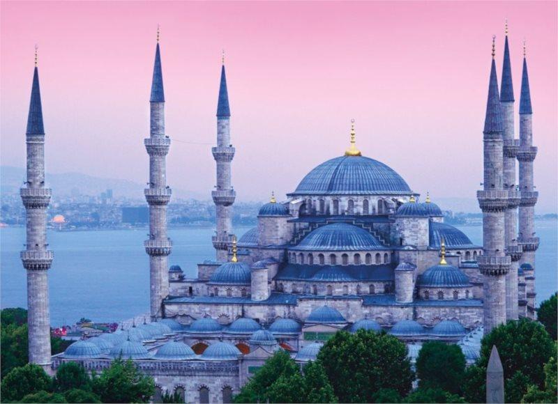 Puzzle CLEMENTONI 1000 dílků - Istanbul