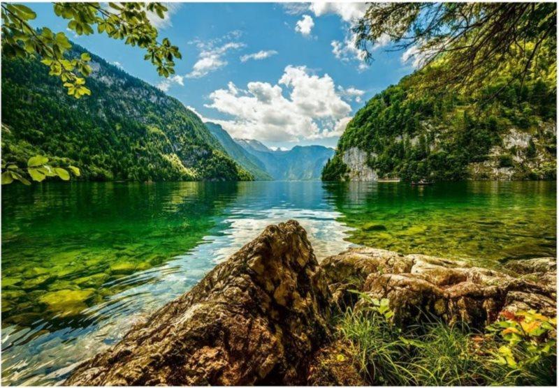 CASTORLAND Puzzle Jezero Königsee 1500 dílků