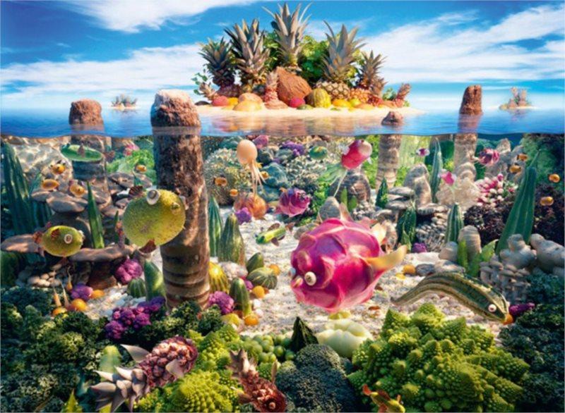 Puzzle SCHMIDT 1000 dílků - Jižní ostrov