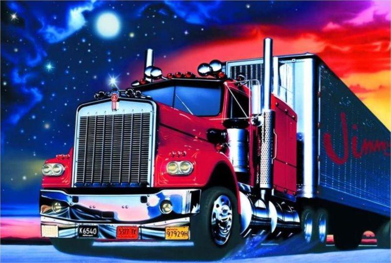 Puzzle SCHMIDT 500 dílků - Kamion