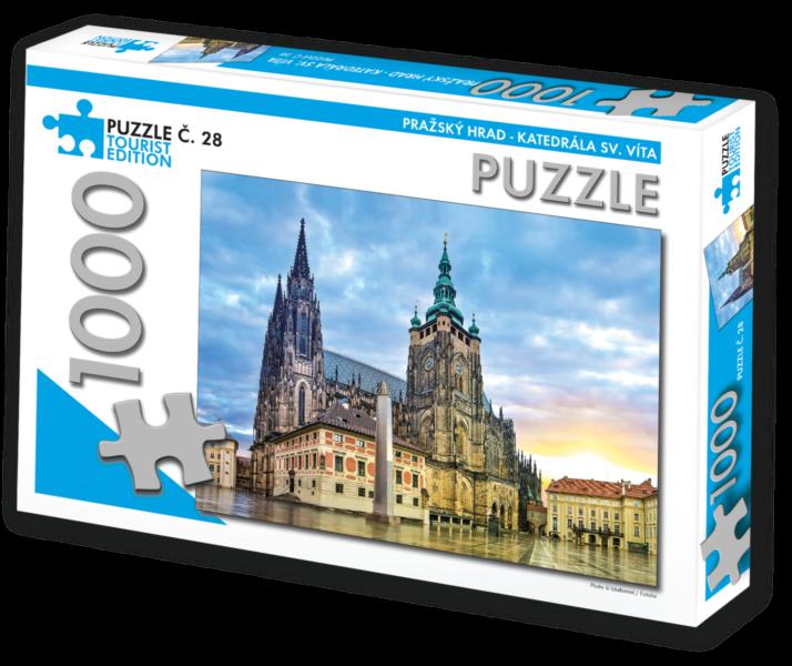 TOURIST EDITION Puzzle Katedrála sv. Víta, Praha 1000 dílků (č.28)