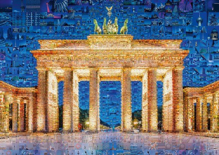 SCHMIDT Puzzle Koláž Berlín 1000 dílků