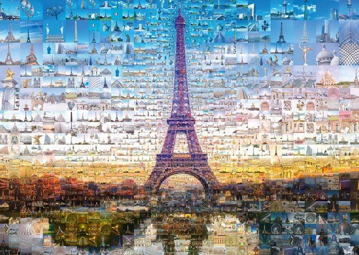 SCHMIDT Puzzle Koláž Paříž, Francie 1000 dílků