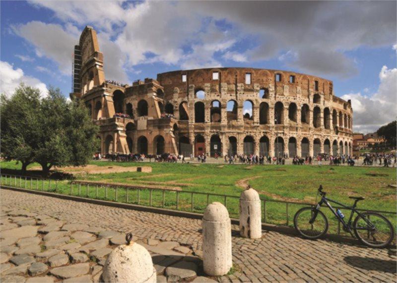 Puzzle JUMBO 18551 Koloseum, Řím 1000 dílků