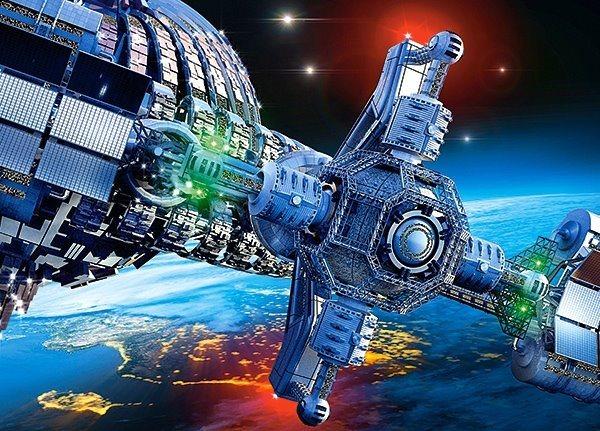 CASTORLAND Puzzle Kosmická loď 260 dílků