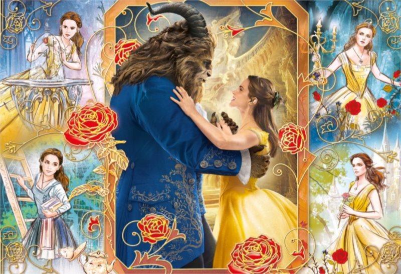 CLEMENTONI Puzzle Kráska a zvíře: Tanec 250 dílků