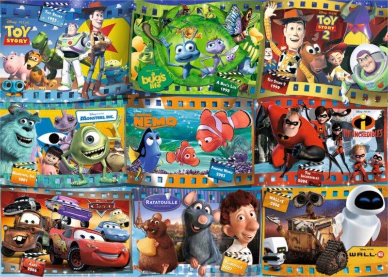 RAVENSBURGER Puzzle Svět Disney Pixar 1000 dílků