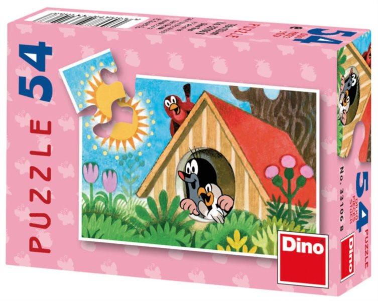 DINO Puzzle Krtek - ptačí budka 54 dílků