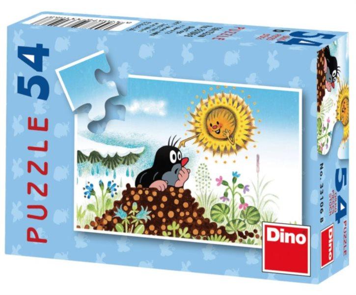 DINO Puzzle Krtek - sluníčko 54 dílků