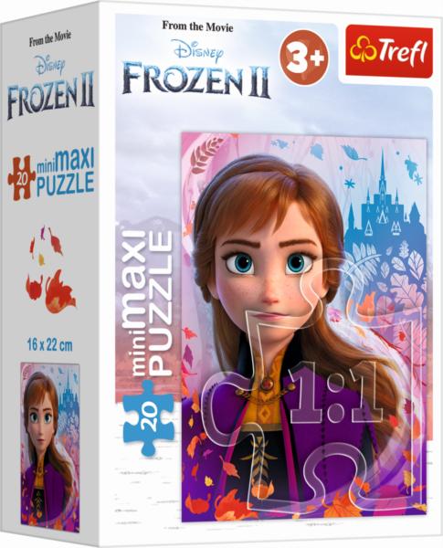 TREFL Puzzle Ledové království 2: Anna 20 dílků