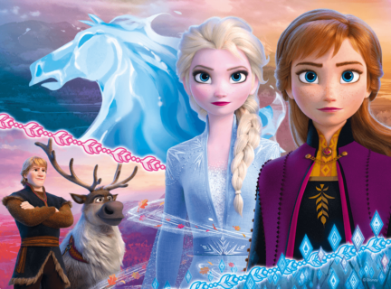 TREFL Puzzle Ledové království 2: Odvážné sestry 30 dílků