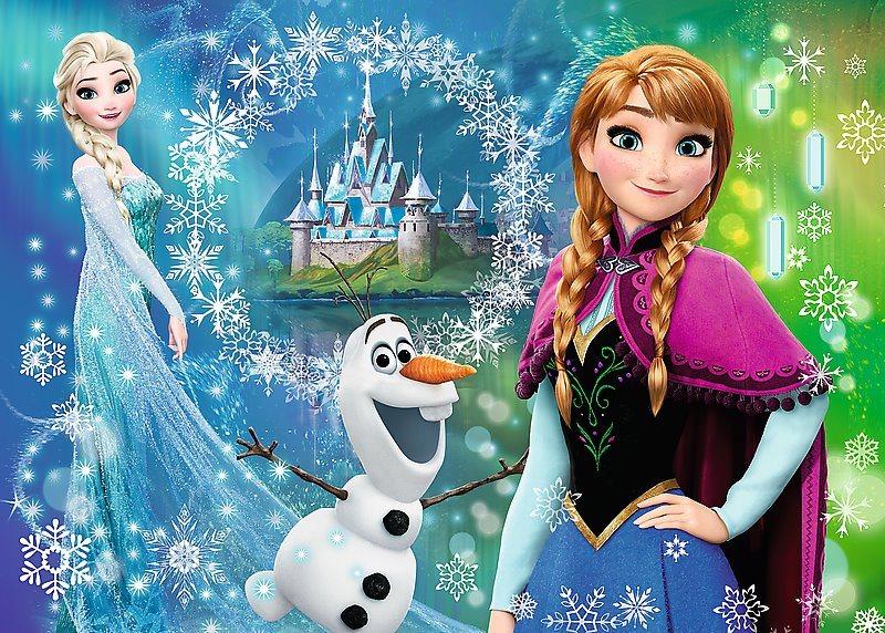 TREFL Puzzle Ledové království 200 dílků