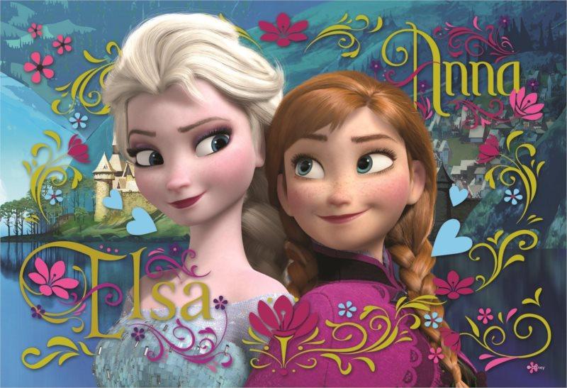 TREFL Puzzle Ledové království: Anna a Elsa 100 dílků