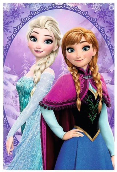 TREFL Puzzle Ledové království: Anna a Elsa 54 dílků