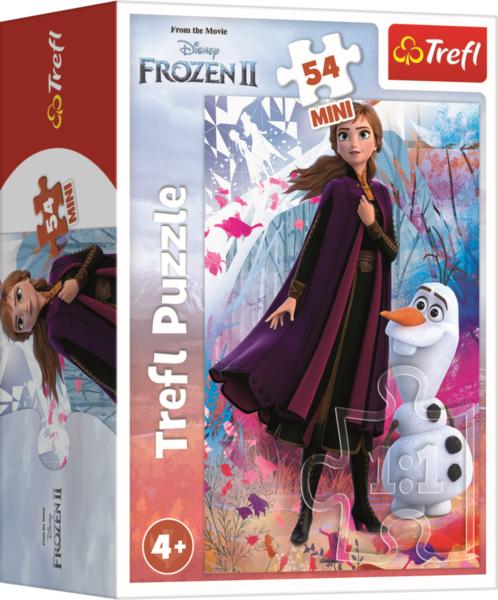 TREFL Puzzle Ledové království II: Anna a Olaf 54 dílků