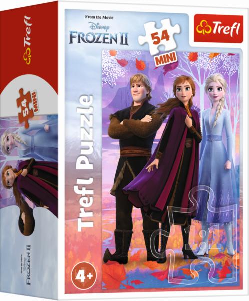 TREFL Puzzle Ledové království II: Elsa, Anna a Kristoff 54 dílků