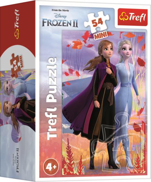 TREFL Puzzle Ledové království II: Sestry 54 dílků