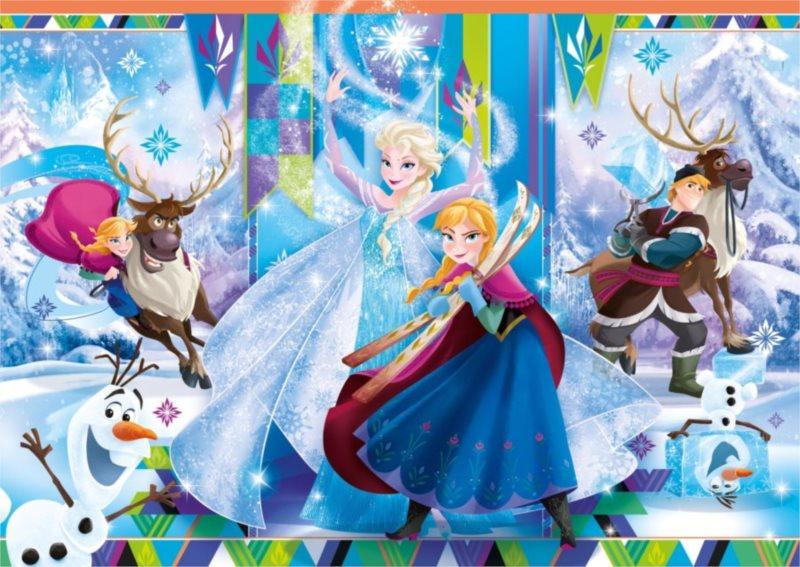 CLEMENTONI Puzzle Ledové království MAXI 24 dílků
