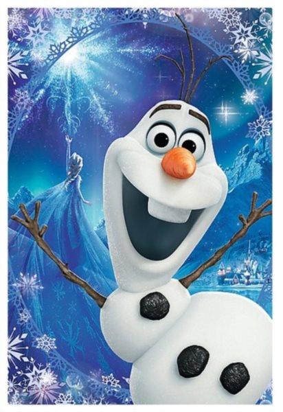 TREFL Puzzle Ledové království: Olaf 54 dílků