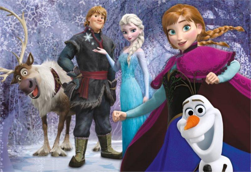 CLEMENTONI puzzle Ledové království: Rodina 60 dílků