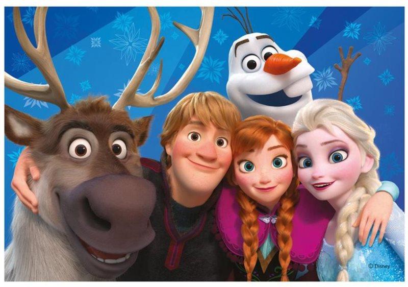DINO Puzzle Ledové království: Selfie 24 dílků