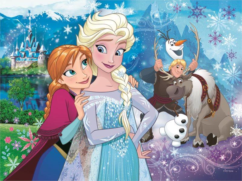 TREFL Puzzle Ledové království: Uvolni magii 30 dílků