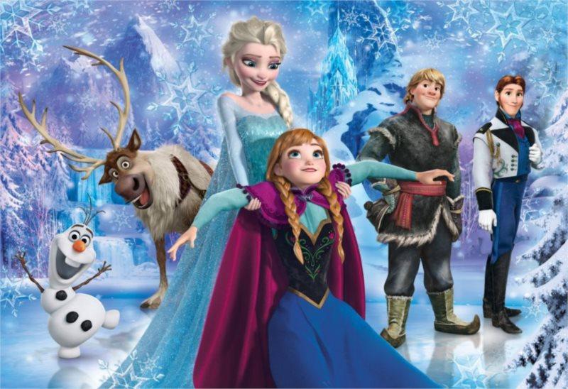 CLEMENTONI Puzzle Ledové království: Zábava MAXI 30 dílků