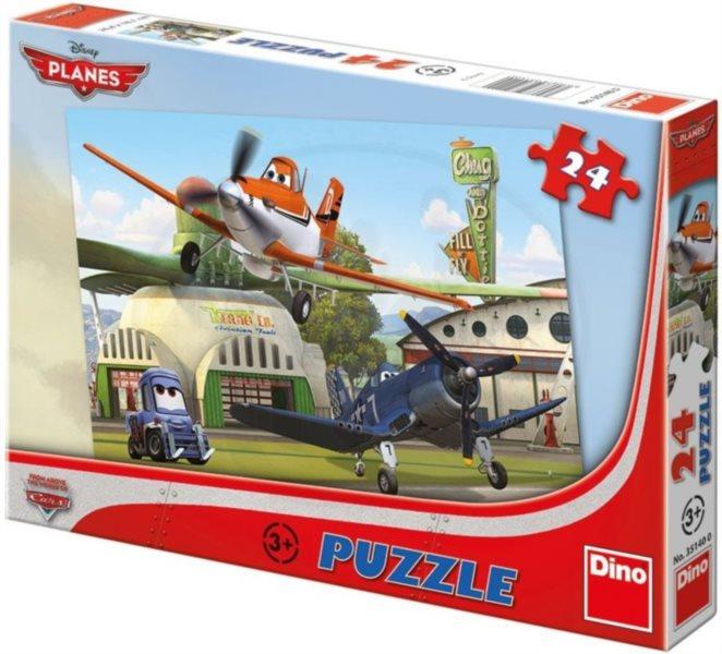 Dětské puzzle DINO 24 dílků -Letadla