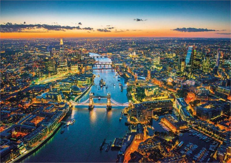 EDUCA Puzzle Letecký pohled na Londýn 1500 dílků