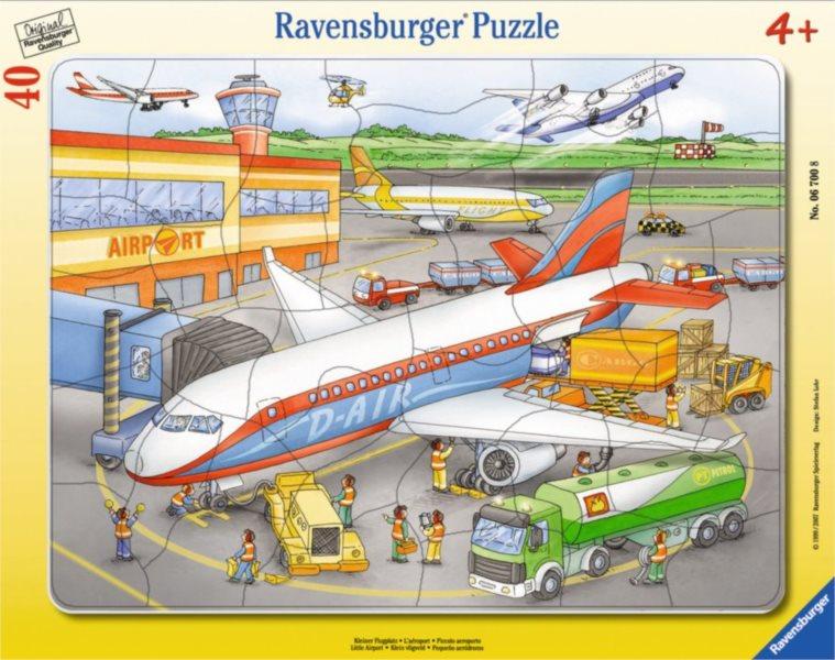 Deskové puzzle RAVENSBURGER 06700 - Letiště 40 dílků