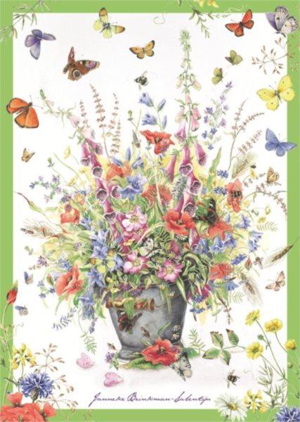 JUMBO Puzzle 500 dílků - Letní květiny