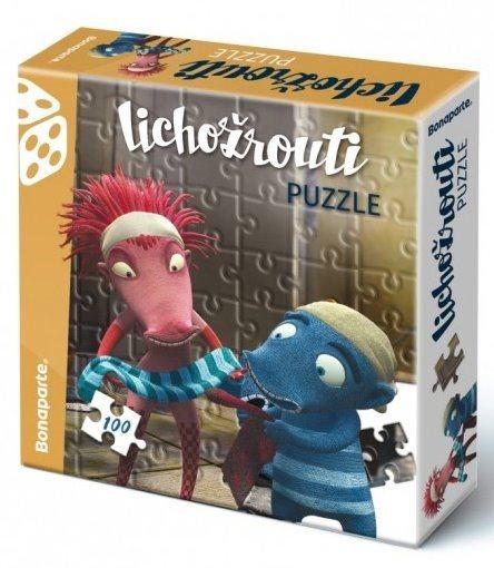 BONAPARTE Puzzle Lichožrouti: Hihlík a Žiletka 100 dílků