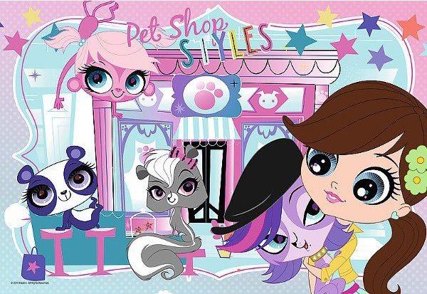Puzzle pro děti TREFL 160 dílků - Littlest Pet Shop
