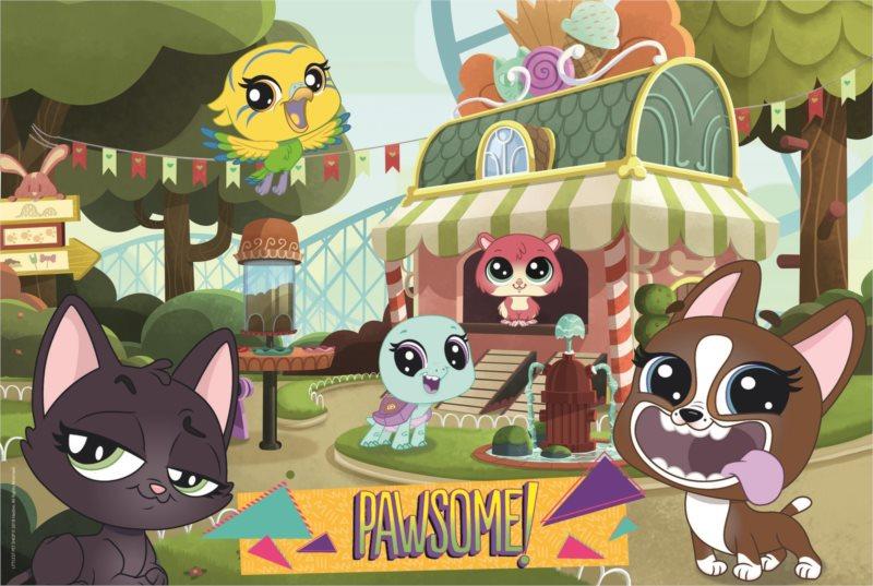 TREFL Puzzle Littlest pet shop: Hraní v parku 100 dílků