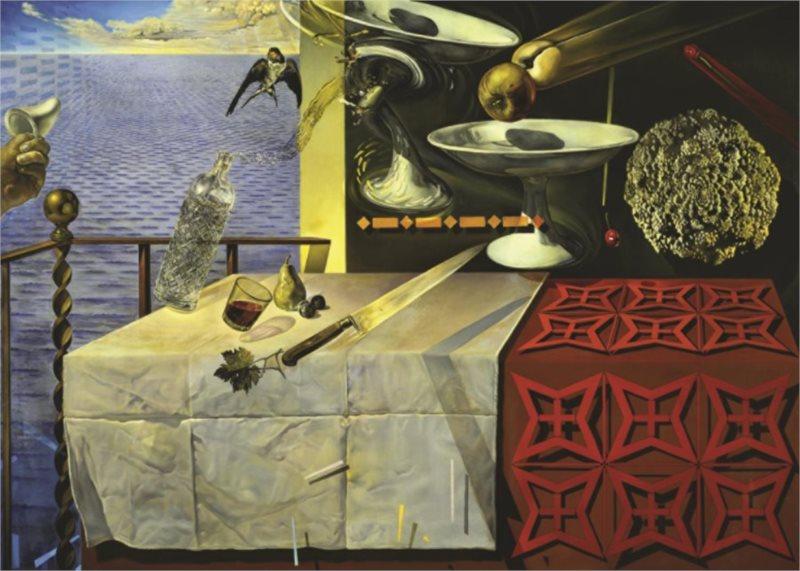 JUMBO Puzzle 18565 Salvador Dalí: Living Still Life 1000 dílků